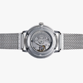 Mechanical Contemporary Watch Metal Strap - 4