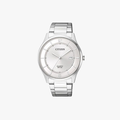 [ประกันร้าน] CITIZEN นาฬิกาข้อมือผู้ชาย รุ่น BD0041-89A Classic AQ Mid White Dial Silver - 1