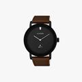 [ประกันร้าน] CITIZEN นาฬิกาข้อมือผู้ชาย รุ่น BE9185-08E AQ Mid Men's Quartz Black Dial Brown - 1