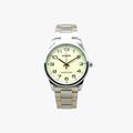 [ประกันร้าน] CASIO นาฬิกาข้อมือผู้ชาย รุ่น MTP-V001SG-9B-S Enticer - 1