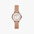 Gianni T-Bar Morther of Pearl Dial - Rose Gold - 1