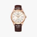 [ประกันร้าน] CITIZEN นาฬิกาข้อมือผู้ชาย รุ่น NH8393-05A Automatic White Dial - 1