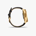 vivomove Luxe - Black Embossed Leather with 24K Gold Hardware - 4