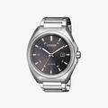 [ประกันร้าน] CITIZEN นาฬิกาข้อมือผู้ชาย รุ่น AW1570-87H Eco-Drive Men's Quartz Black Dial Silver - 1