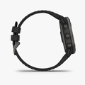 Fenix 6X - Pro Solar Titanium Carbon Gray DLC with Black Band (Solar) - 3