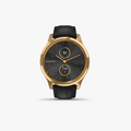 vivomove Luxe - Black Embossed Leather with 24K Gold Hardware - 2