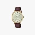[ประกันร้าน] CASIO นาฬิกาข้อมือผู้หญิง รุ่น LTP-VT01GL-9BUDF-S Standard Brown - 1