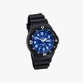 [ประกันร้าน] CASIO นาฬิกาข้อมือผู้ชาย รุ่น MRW-200H-2B2 Standard Black - 2