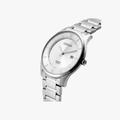 [ประกันร้าน] CITIZEN นาฬิกาข้อมือผู้ชาย รุ่น BD0041-89A Classic AQ Mid White Dial Silver - 2