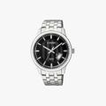 [ประกันร้าน] CITIZEN นาฬิกาข้อมือผู้ชาย รุ่น BI1050-81E AQ Mid Men's Quartz Black Dial Silver - 1