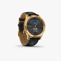 vivomove Luxe - Black Embossed Leather with 24K Gold Hardware - 3