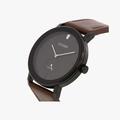 [ประกันร้าน] CITIZEN นาฬิกาข้อมือผู้ชาย รุ่น BE9185-08E AQ Mid Men's Quartz Black Dial Brown - 2