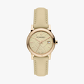 The City Leather Strap - Rose Gold - 1