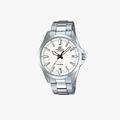 Casio Edifice White Dial - Silver - 1