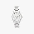[ประกันร้าน] CITIZEN นาฬิกาข้อมือผู้ชาย รุ่น AG8351-86A AQ Mid Men's Quartz White Dial Silver - 1