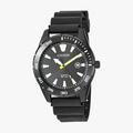 [ประกันร้าน] CITIZEN นาฬิกาข้อมือผู้ชาย รุ่น BI1045-13E AQ Mid Black Dial Black - 1