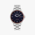 Superdry Hoxton Date Silver Stainless steel watch - 1