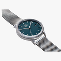 Mechanical Contemporary Watch Metal Strap - 2
