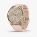vivomove Style - Blush Pink Nylon with Lght Gold Hardware - 1