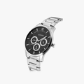 [ประกันร้าน] CITIZEN นาฬิกาข้อมือผู้ชาย รุ่น AG8351-86E AQ Mid Men's Quartz Black Dial Silver - 2