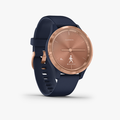 vivomove 3S - Navy with Rose Gold Hardware - 3