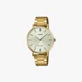 [ประกันร้าน] CASIO นาฬิกาข้อมือผู้หญิง รุ่น LTP-VT01G-9BUDF-S Standard Gold - 1