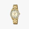 [ประกันร้าน] CASIO นาฬิกาข้อมือผู้หญิง รุ่น LTP-V005G-9AUDF-S Standard Gold - 1