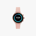 Fossil Sport Metal and Silicone Touchscreen Smartwatch - Pink - 1