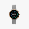 Fossil Sport Metal and Silicone Touchscreen Smartwatch - Grey - 1