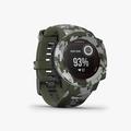 Instinct Solar, Camo Edition, GPS Watch, Lichen Camo, SEA - 3