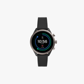 Fossil Sport Metal and Silicone Touchscreen Smartwatch - Black - 1