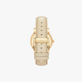 The City Leather Strap - Rose Gold - 3