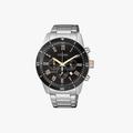 [ประกันร้าน] CITIZEN นาฬิกาข้อมือผู้ชาย รุ่น AN8168-51H AQ Chronograph Men's Quartz Black Dial Silver - 1