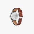 CITIZEN Eco-Drive BM6838-33L Leather Men's Watch - 2