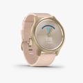vivomove Style - Blush Pink Nylon with Lght Gold Hardware - 2