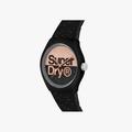 Superdry Urban Glitter Brand Analog Black Dial Women's Watch-SYL273B - 2