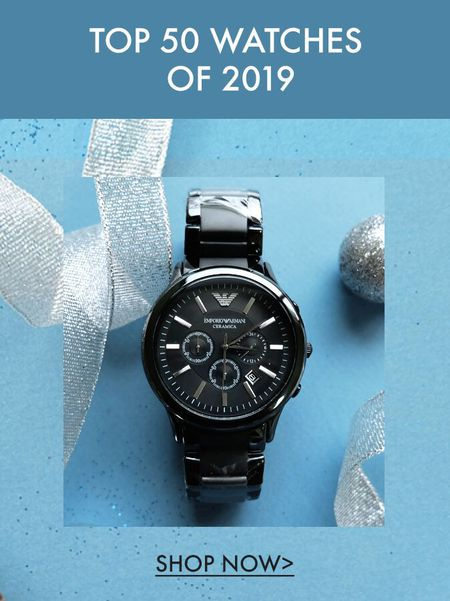 TOP 50 WATCHES OF 2019
