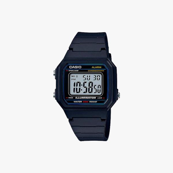 [ประกันร้าน] CASIO นาฬิกาข้อมือผู้ชาย รุ่น W-217H-1AVDF-S Standard Black