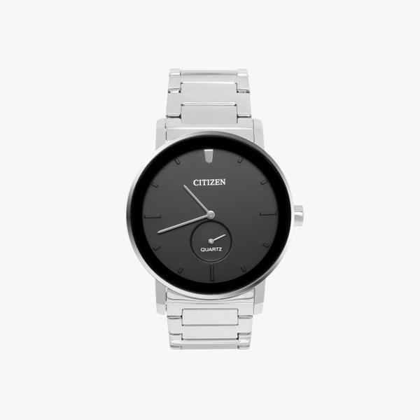 [ประกันร้าน] CITIZEN นาฬิกาข้อมือผู้ชาย รุ่น BE9180-52E AQ Mid Black Dial Silver