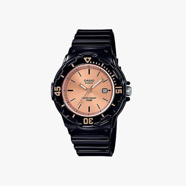 [ประกันร้าน] CASIO นาฬิกาข้อมือ รุ่น LRW-200H-9E2 General Pink Dial Black