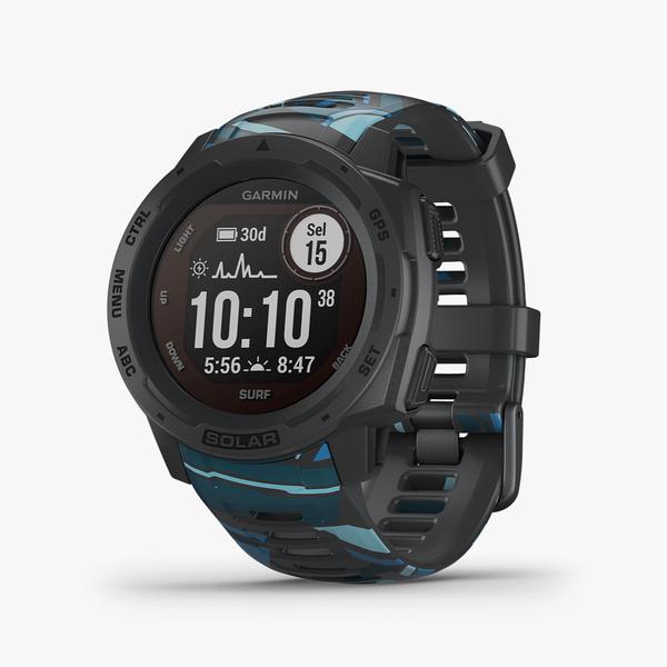Instinct Solar, Surf Edition, GPS Watch, Pipeline, SEA