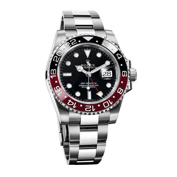 GMT-Master II Coke - Black, Red -116710BKSO