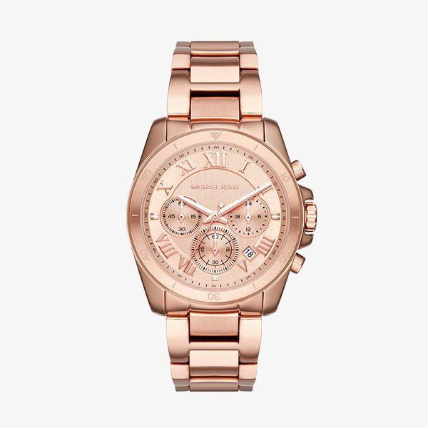 Brecken Chronograph Rose Gold Dial - Rose Gold