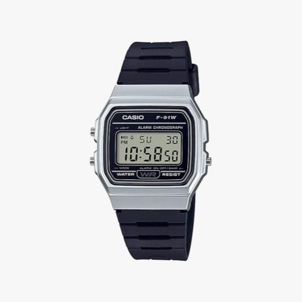 [ประกันร้าน] CASIO นาฬิกาข้อมือผู้หญิง รุ่น F-91WM-7ADF-S Standard Black