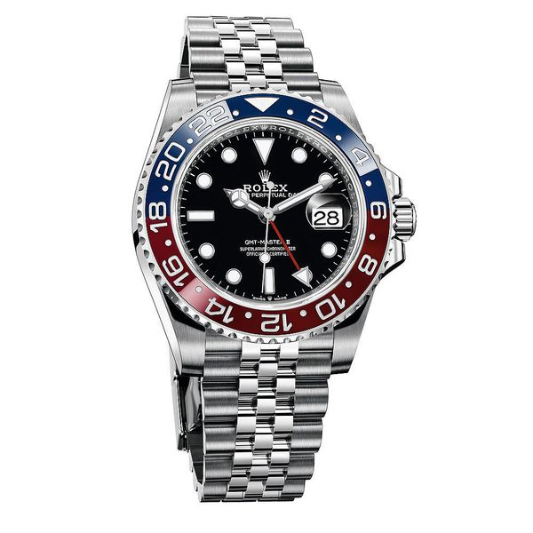 GMT-Master II Pepsi - Blue, Red - 126710blro