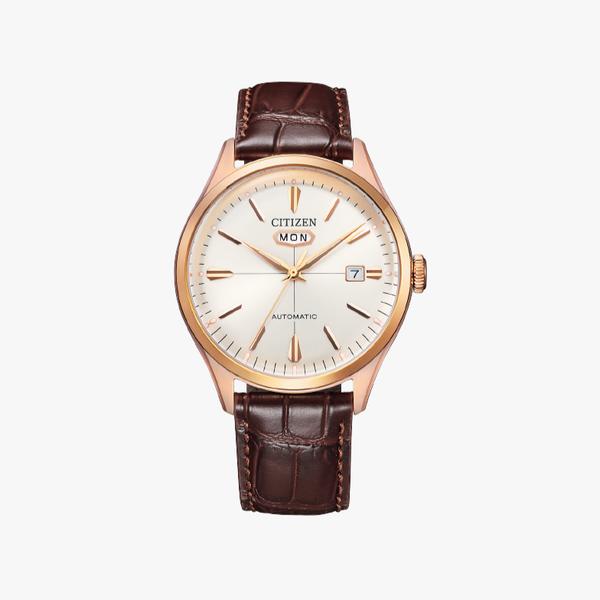 [ประกันร้าน] CITIZEN นาฬิกาข้อมือผู้ชาย รุ่น NH8393-05A Automatic White Dial