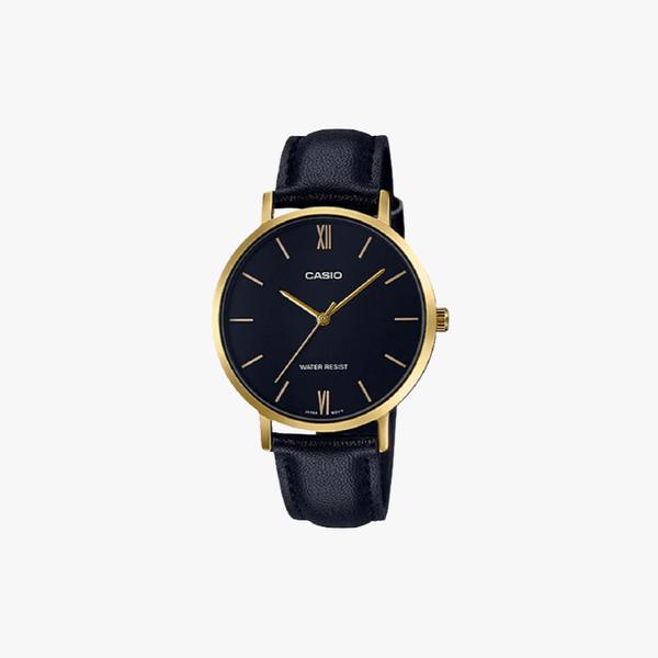 [ประกันร้าน] CASIO นาฬิกาข้อมือผู้หญิง รุ่น LTP-VT01GL-1BUDF-S Standard Black