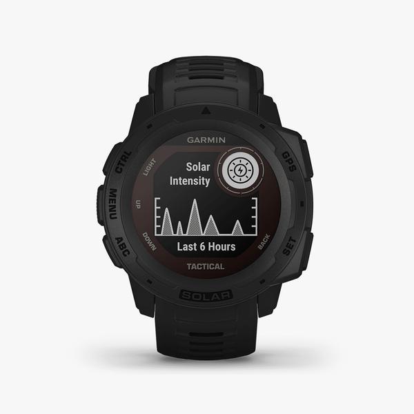 Instinct Solar, Tactical Edition, GPS Watch, Black, SEA