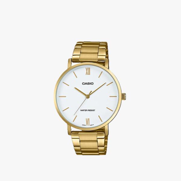 [ประกันร้าน] CASIO นาฬิกาข้อมือผู้หญิง รุ่น LTP-VT01G-7BUDF-S Standard Gold