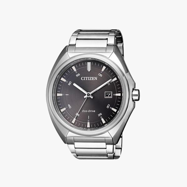 [ประกันร้าน] CITIZEN นาฬิกาข้อมือผู้ชาย รุ่น AW1570-87H Eco-Drive Men's Quartz Black Dial Silver